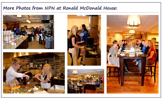 NPN at Ronald McDonald House photos