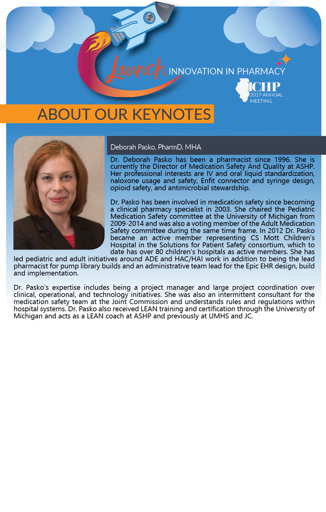 More about the ICHP 2017 Annual Meeting
